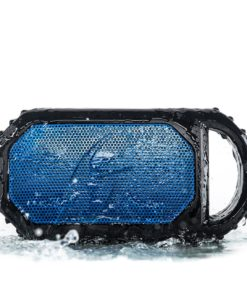 ECOSTONE Bluetooth Speaker, Speakerphone, Waterproof Blue