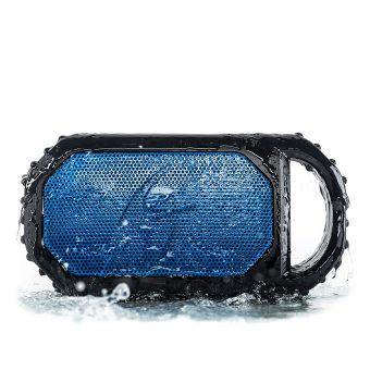 ECOSTONE Bluetooth Speaker, Speakerphone, Waterproof Blue
