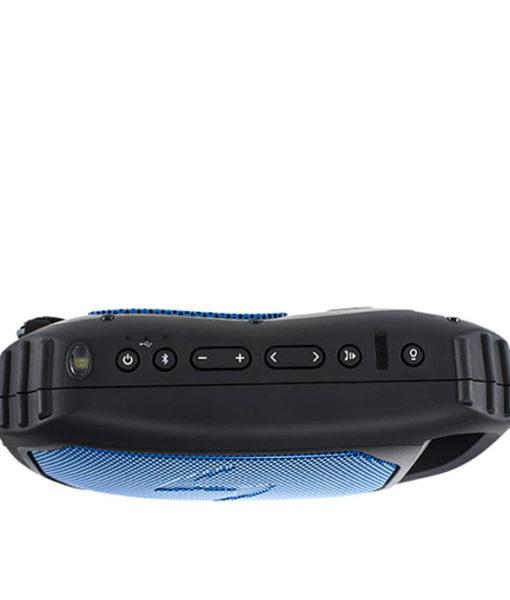 ECOSTONE Bluetooth Speaker, Speakerphone, Waterproof - Blue
