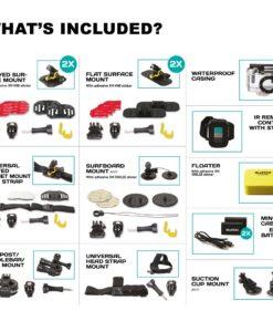 Guardo Action Cam Plus Package