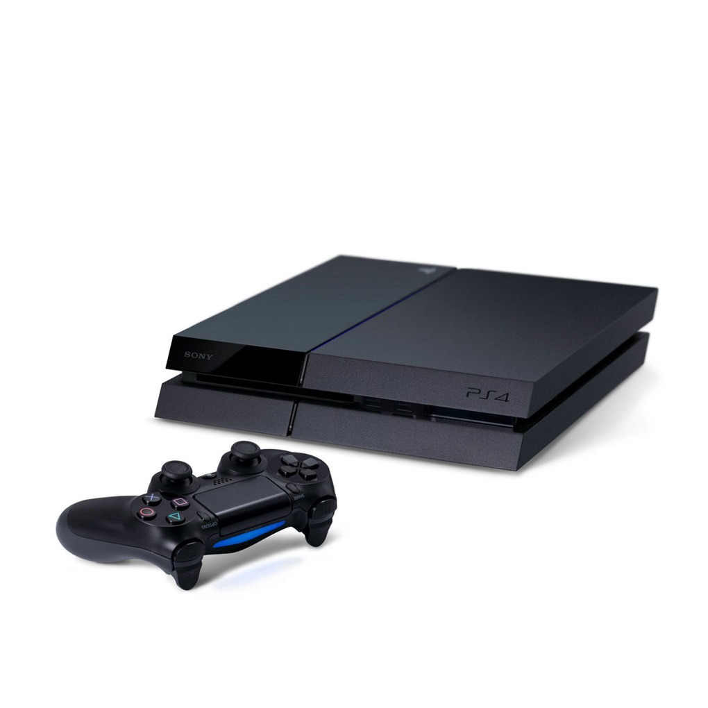 Sony Ps4 Playstation 4 500gb With Controller Mtc Factory Outlet Kamera Black