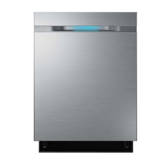 Samsung 44 dBA Waterwall Dishwasher Stainless Steel DW80H9930US, DW80J9945US