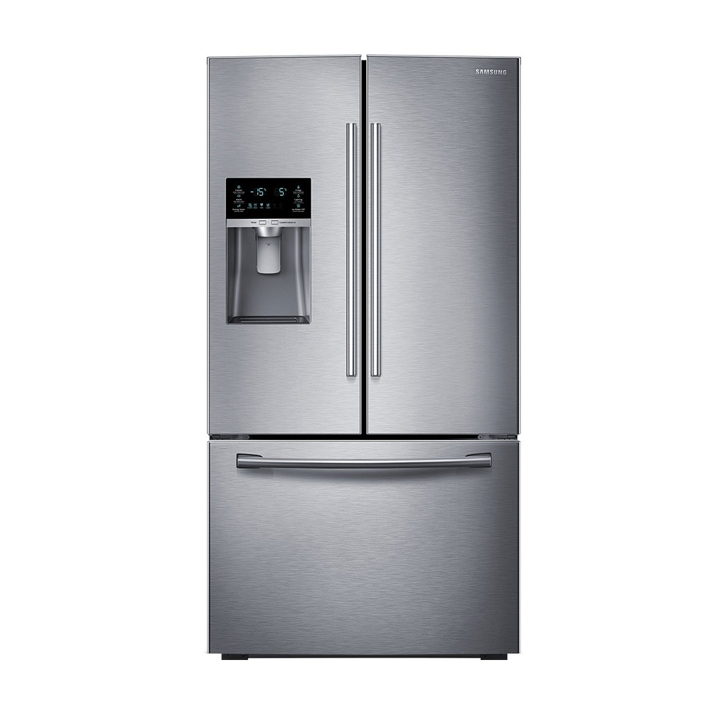French Door Refrigerators: Samsung 23 Cu.ft. 3-Door French Door Refrigerator SS