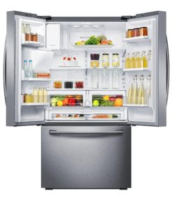 Samsung 23 cu.ft 3-Door French Door Refrigerator SS RF23HCEDBSR