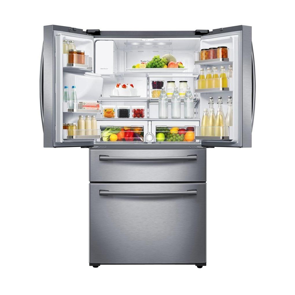Samsung 28 cu.ft. 4-Door French Door Refrigerator SS RF28HMEDBSR