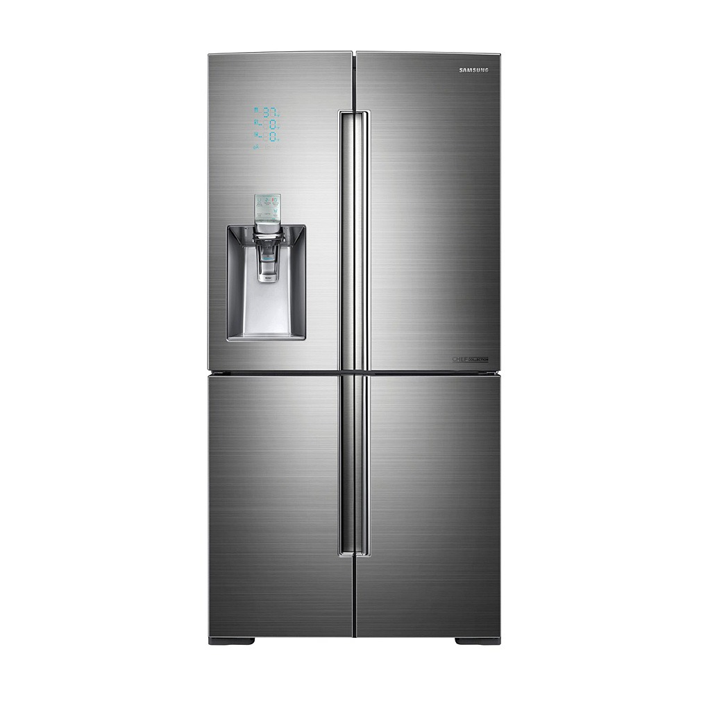 "Samsung CHEF Collection 36"" 34.3 Cu. Ft. 4-Door Refrigerator RF34H9960S4"