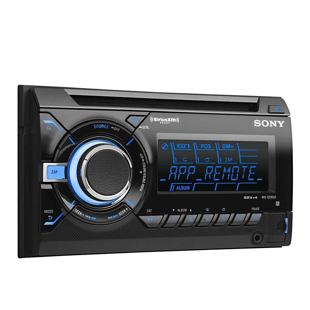 Sony In Dash CD Car Stereo IPhone Android WX-GT80UI