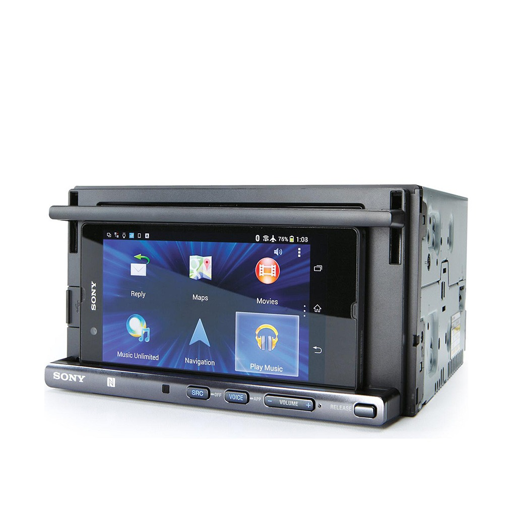 Sony NFC Bluetooth Smartphone Cradle CD In-dash Receiver