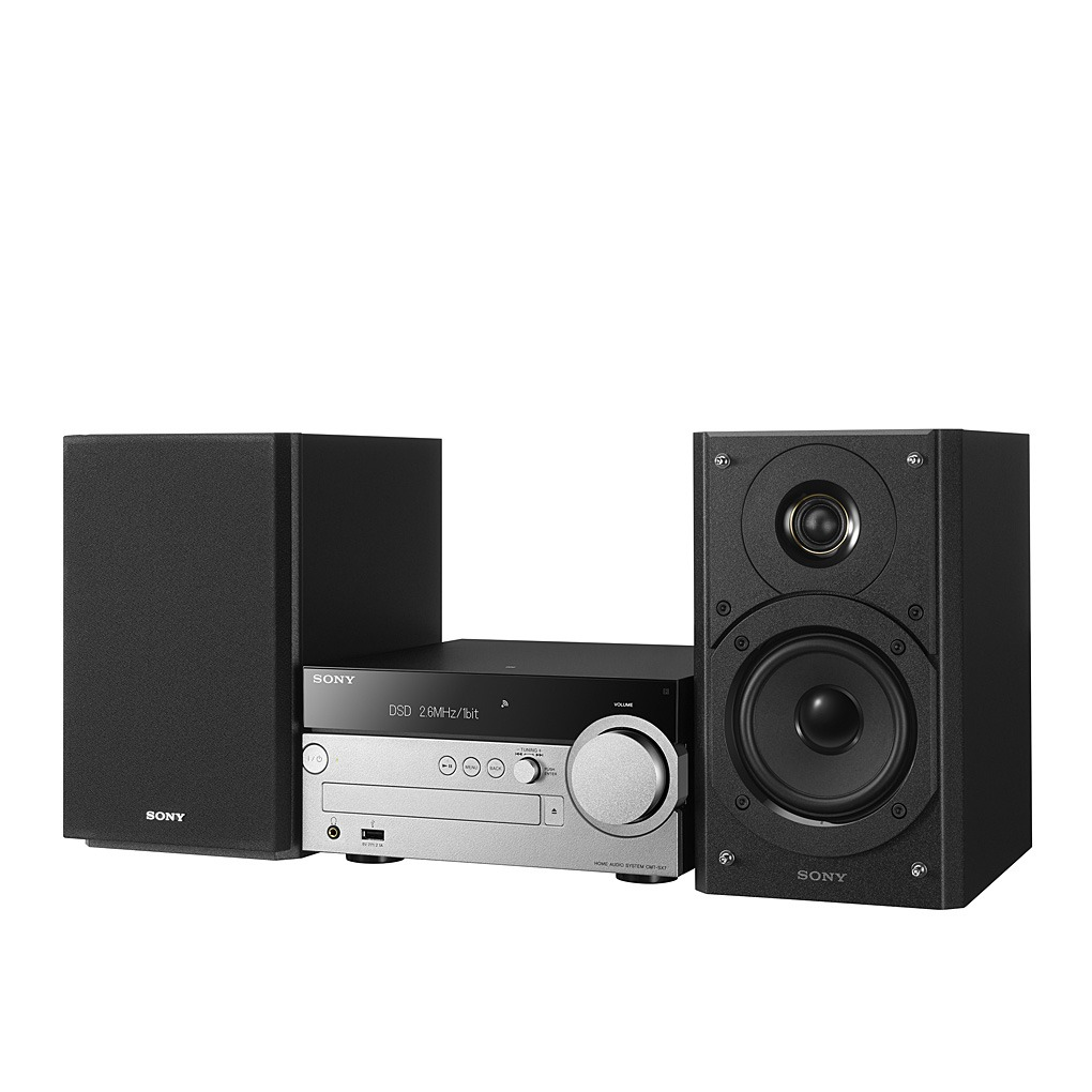 sony hi fi mini system with cd player wi fi bluetooth. Black Bedroom Furniture Sets. Home Design Ideas
