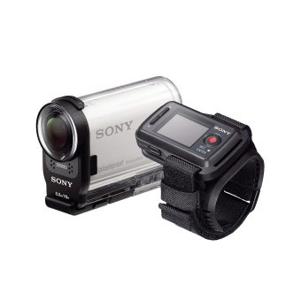 Sony Action Cam HDR-AS200VR Waterproof HD Flash Memory Camcorder