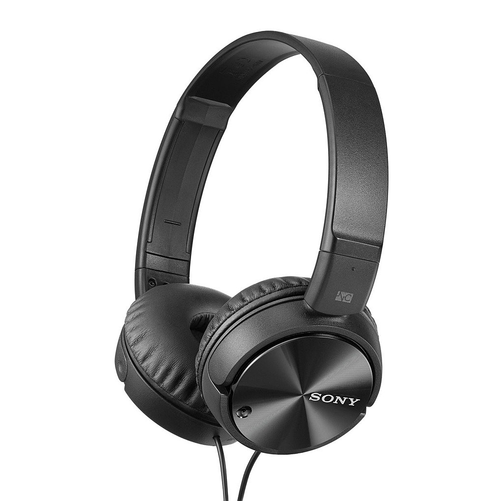 Sony Over-Ear Noise Cancelling Headphones with Mic - MDRZX110NA
