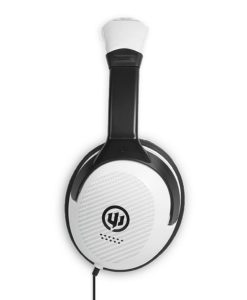 Wicked Reverb white over ear headphone WI8203