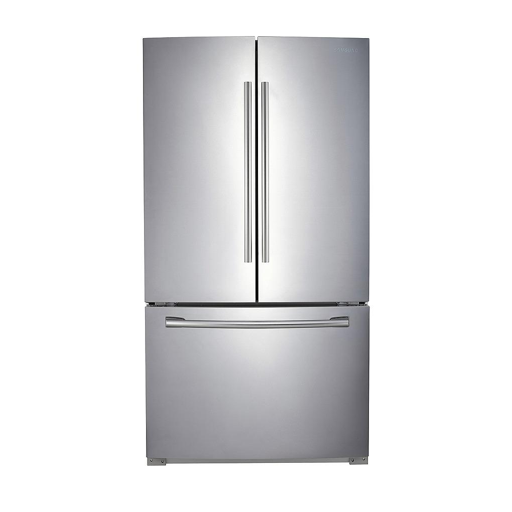 Samsung 25 6 3 door french door refrigerator for 17 cu ft french door refrigerator