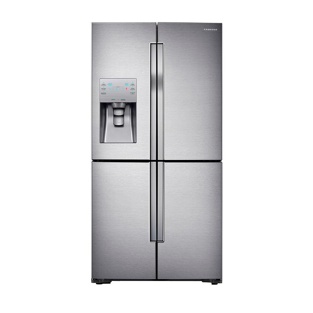 samsung 22 5 4 door french door refrigerator ss rf23j9011sr mtc factory outlet. Black Bedroom Furniture Sets. Home Design Ideas