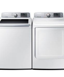 Samsung Washer & Electric Dryer Set WA45H7000AW-DV45H7000EW
