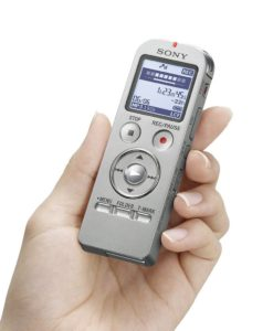 Sony Stereo Digital Voice Recorder ICDUX533