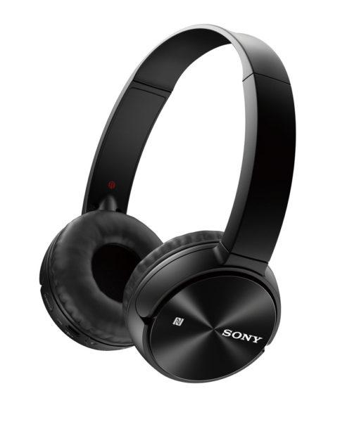 Sony Bluetooth Wireless On-Ear Headphones MDRZX330BT - Black