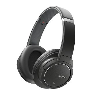 Sony Bluetooth Noise Cancelling Headphones with Built-in Mic MDRZX770BN