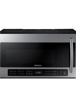 Samsung - 2.1 Cu. Ft. Over-the-Range Microwave SS ME21H706MQS/AC