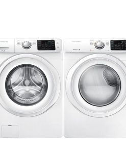Samsung Washer & Electric Dryer Set - White WF42H5000AWA2 DV42H5000EWAC