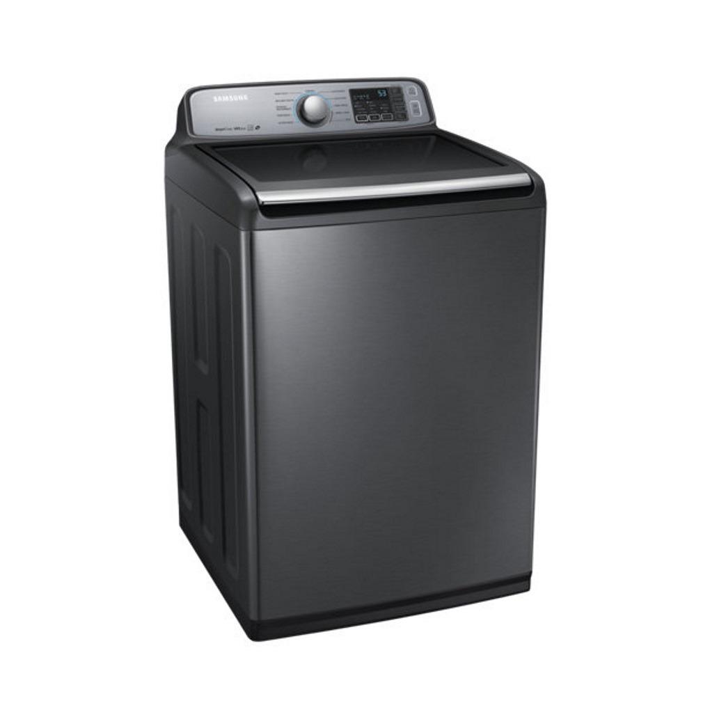 samsung stainless 5 8 cu ft platinum washer wa50m7450ap. Black Bedroom Furniture Sets. Home Design Ideas